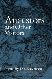 Ancestors and Other Visitors by D. Stevenson