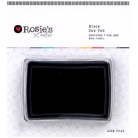 Rosie's Studio: Ink Pad - Black (70 x 50mm)
