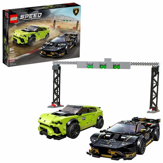 LEGO Speed Champions: Lamborghini Urus ST-X & Lamborghini Huracán Super Trofeo EVO - (76899)