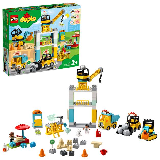 LEGO DUPLO: Tower Crane & Construction - (10933)