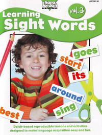 Learning Sight Words Resource Book: Volume 3 by Barbara Rankie image