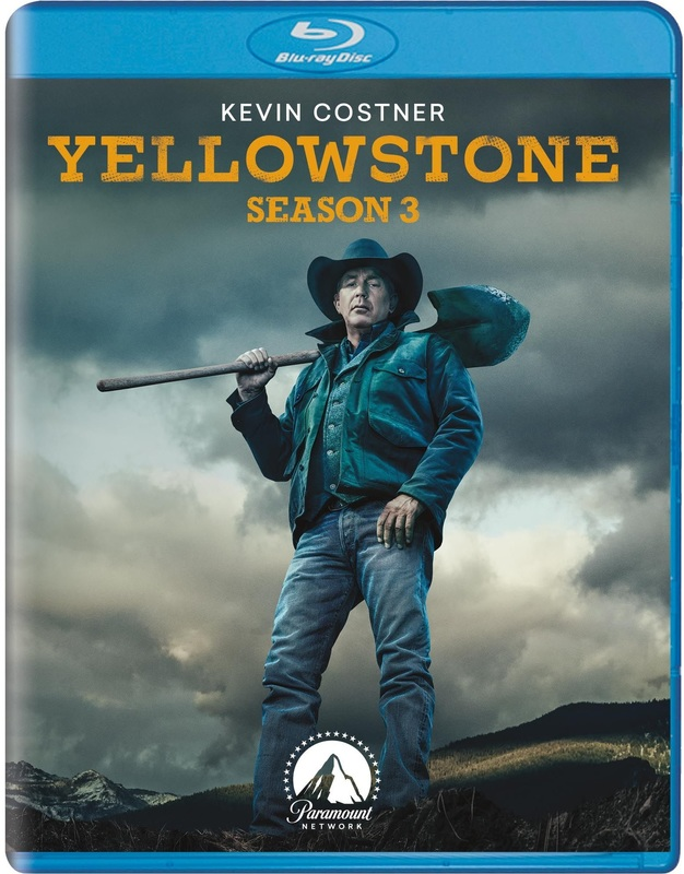 Yellowstone - Season 3 on Blu-ray