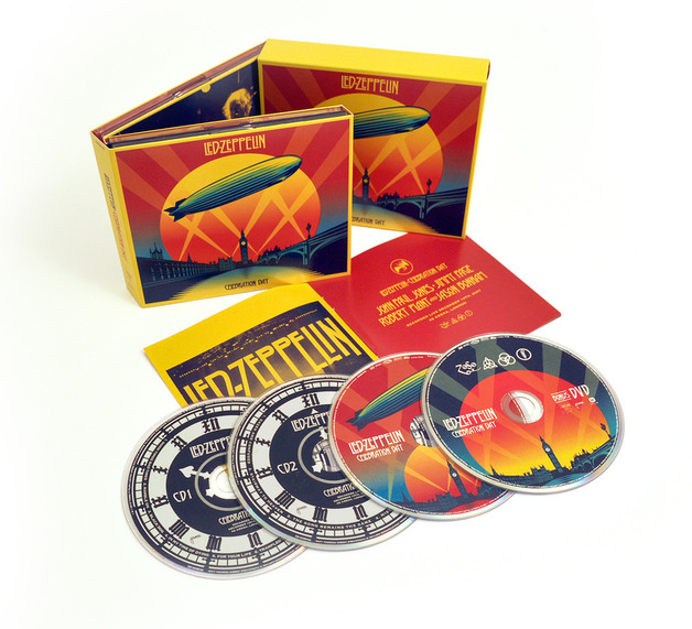 Celebration Day (2CD+DVD) by Led Zeppelin