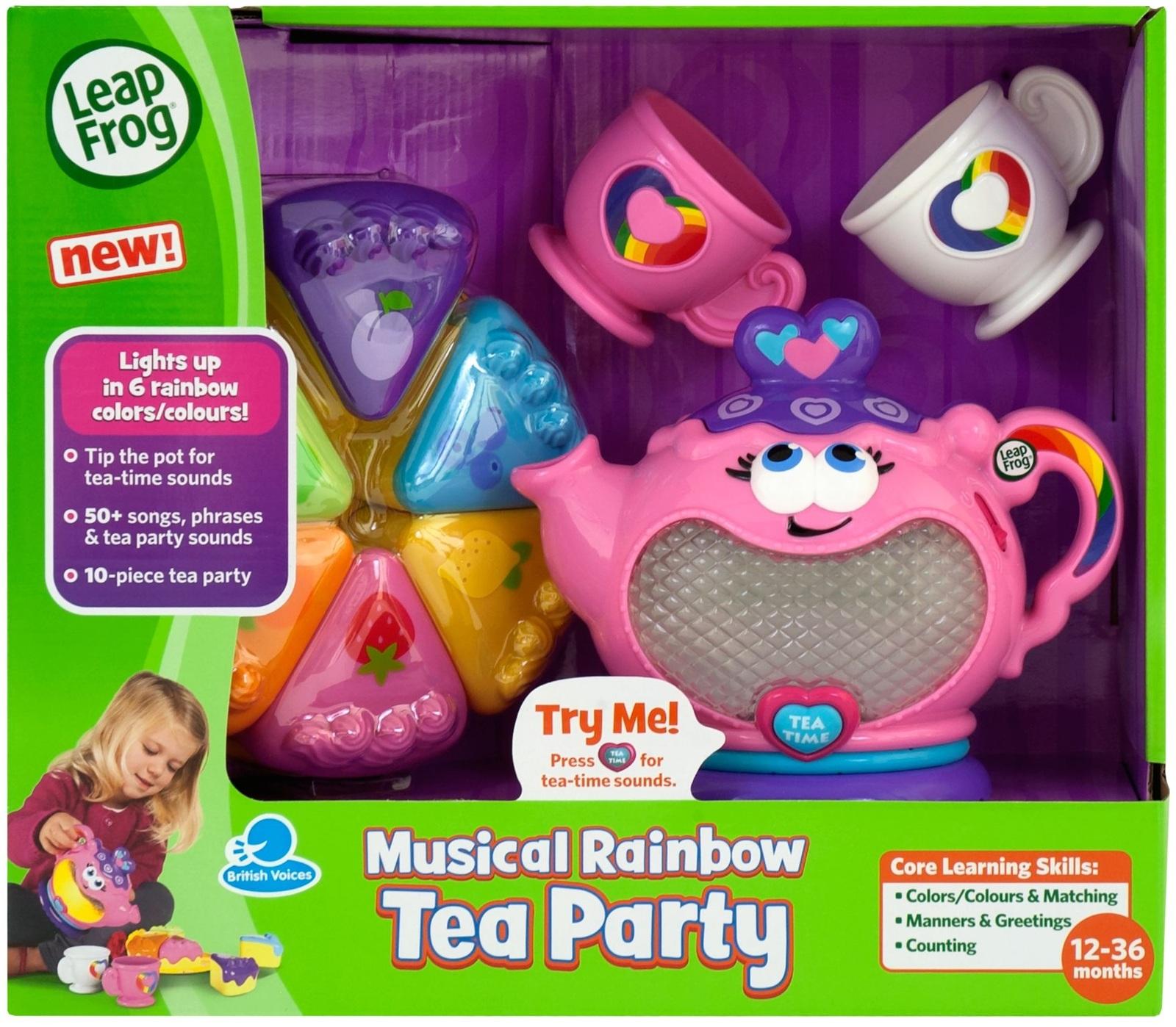 LeapFrog - Musical Rainbow Tea Party image