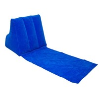 WickedWedge Inflatable Lounger (Blue)
