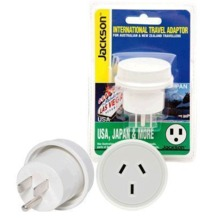 Jackson Outbound Travel Adaptor - NZ to USA