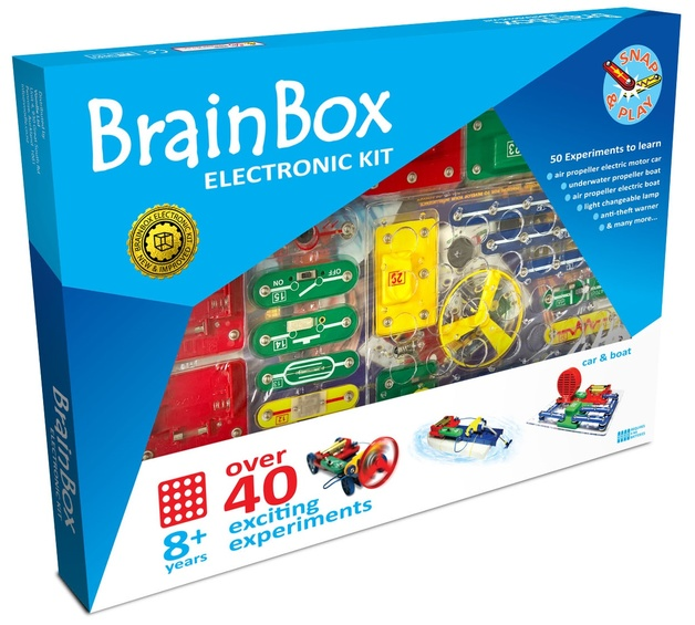 Brain Box: Car & Boat Experiment Kit