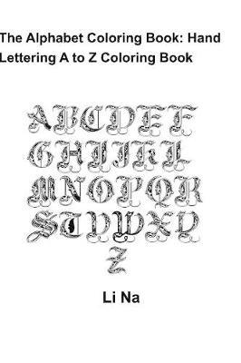 The Alphabet Coloring Book by Li Na image