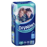 Huggies DryNites - 8-15 Year Boy 27-57 kg (9)