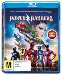 Saban's Power Rangers on Blu-ray