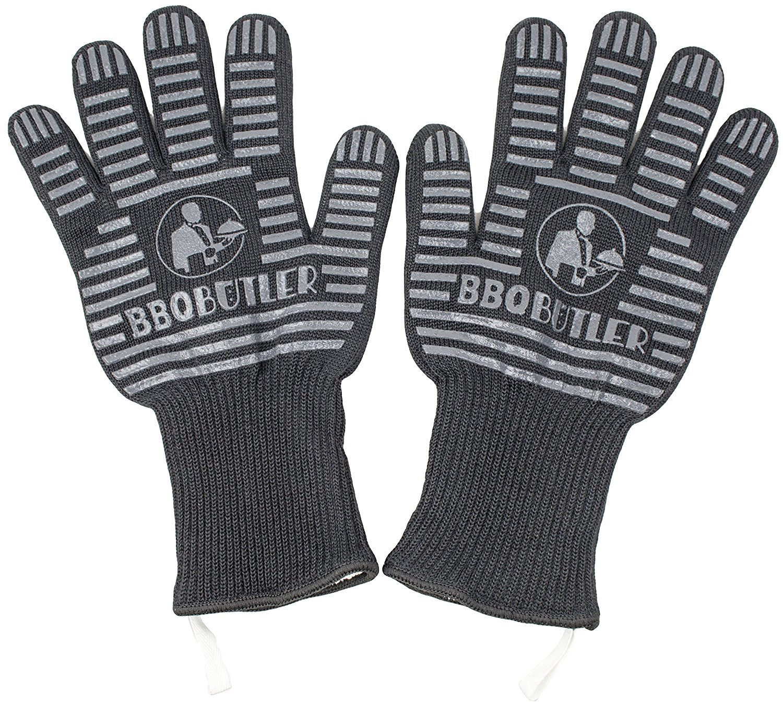 BBQ Butler - Heat/Flame Resistant BBQ Gloves image