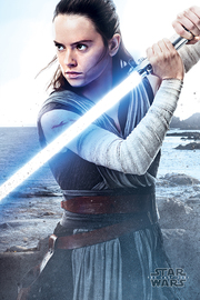 Star Wars The Last Jedi: Rey Engage - Maxi Poster (671)