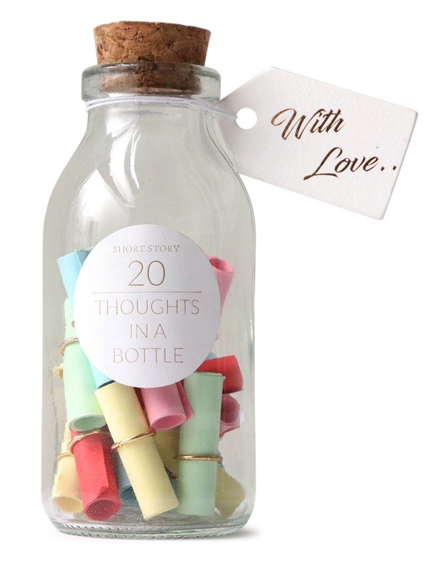 Short Story: Thoughts In a Bottle - With Love