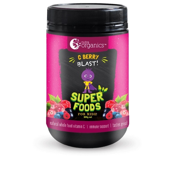 Nutra Organics Superfoods for Kids - Nutra C Berry Blast (200g)