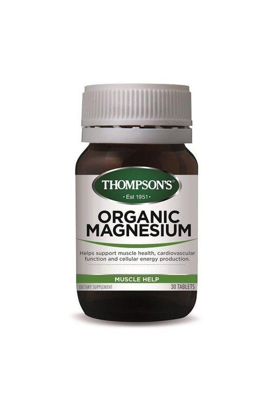 Thompson's Organic Magnesium (30tabs)