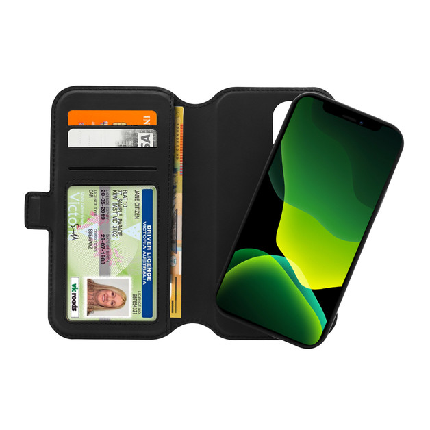 3sixT NeoWallet for iPhone 12 / 12 Pro - Black