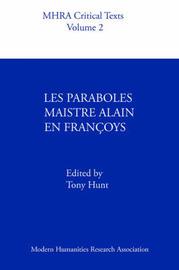 Les Paraboles Maistre Alain En Francoys image