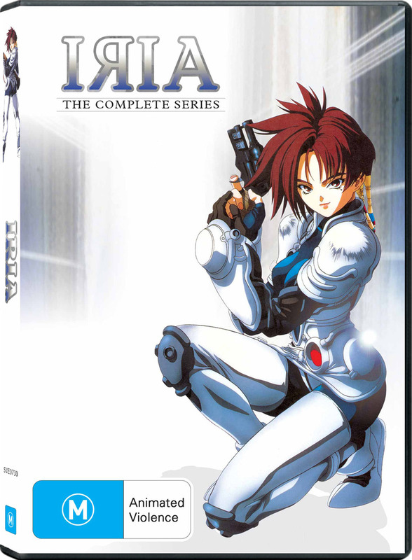 Iria - The Complete Series on DVD