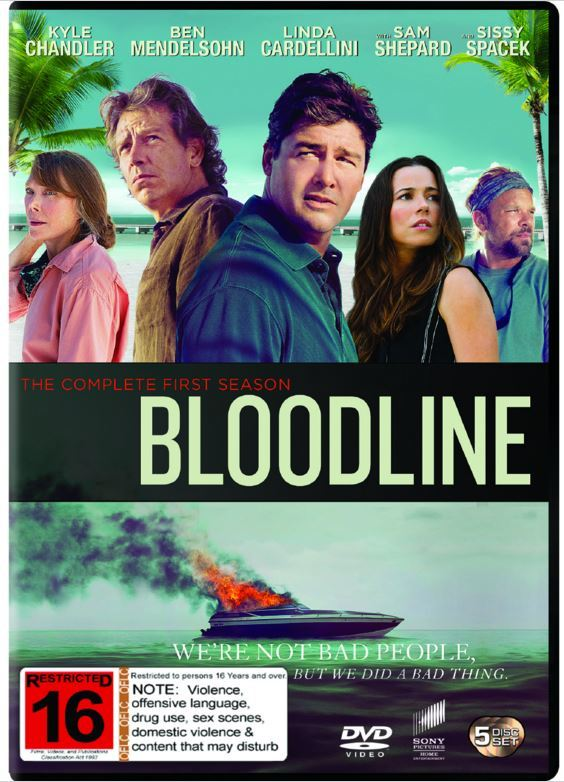 Bloodline - The Complete First Season on DVD