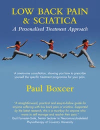Low Back Pain and Sciatica: A Personalised Treatment Approach by Paul Boxcer image