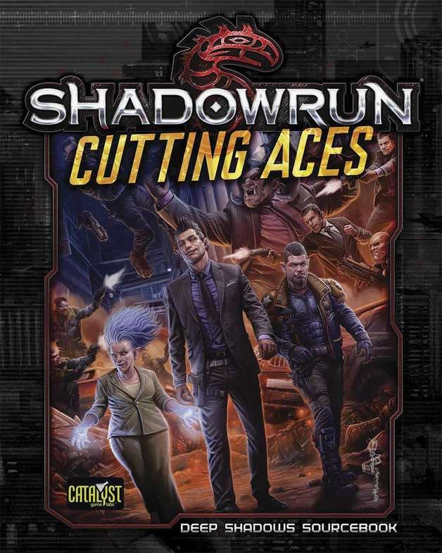 Shadowrun RPG: Cutting Aces - Deep Shadows Sourcebook