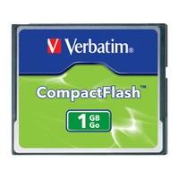 Verbatim CompactFlash Card - 1GB image