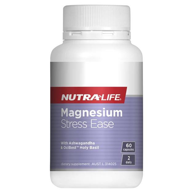 Nutra Life: Magnesium Stress Ease Caps (60s)