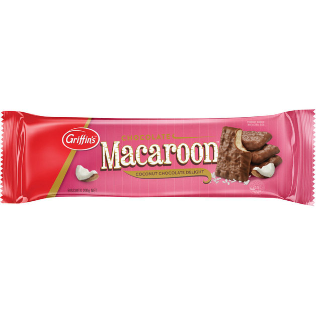 Griffins Chocolate Macaroons (200g x 24)