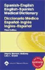 Spanish-English, English-Spanish Medical Dictionary image