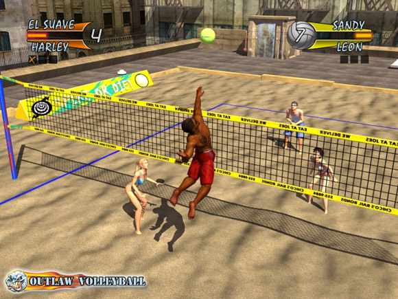 Outlaw Volleyball for Xbox image