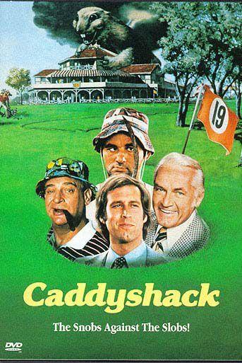 Caddyshack on DVD image