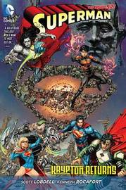 Superman: Krypton Returns HC (The New 52) by Scott Lobdell