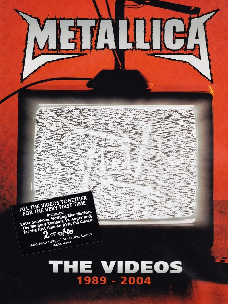 Metallica: The Videos, 1989 - 2004 on DVD image