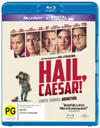 Hail Caesar! on Blu-ray, UV