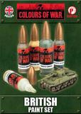 Colours of War - British Paint Set