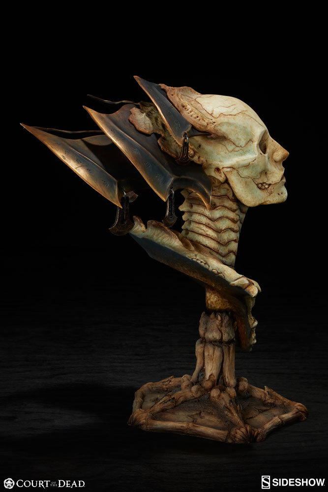 Court of the Dead - Xiall the Resolve of Bone - 1:2 Scaled Legendary Bust image