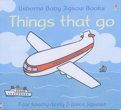 Usborne First Jigsaw Books Things That Go