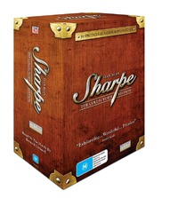 Sharpe - The Collector's Edition (10 Disc Slipcase Box Set) on DVD