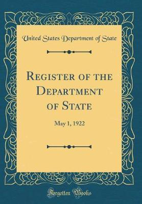 Register of the Department of State by United States Department of State