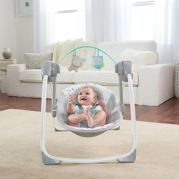Ingenuity: Comfort 2 Go Portable Swing - Fanciful Forest