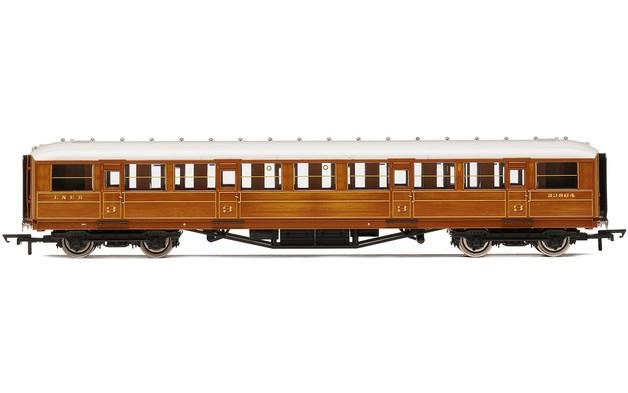 "Hornby: LNER, 61' 6"" Gresley Corridor Third, 23864"