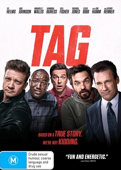 Tag on DVD image