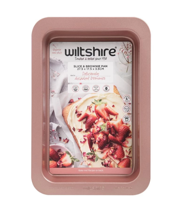 Wiltshire: Rose Gold Slice Pan
