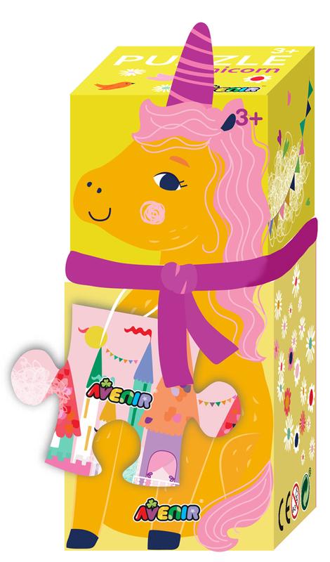 Avenir: 28-Piece Puzzle Gift Box - Unicorn
