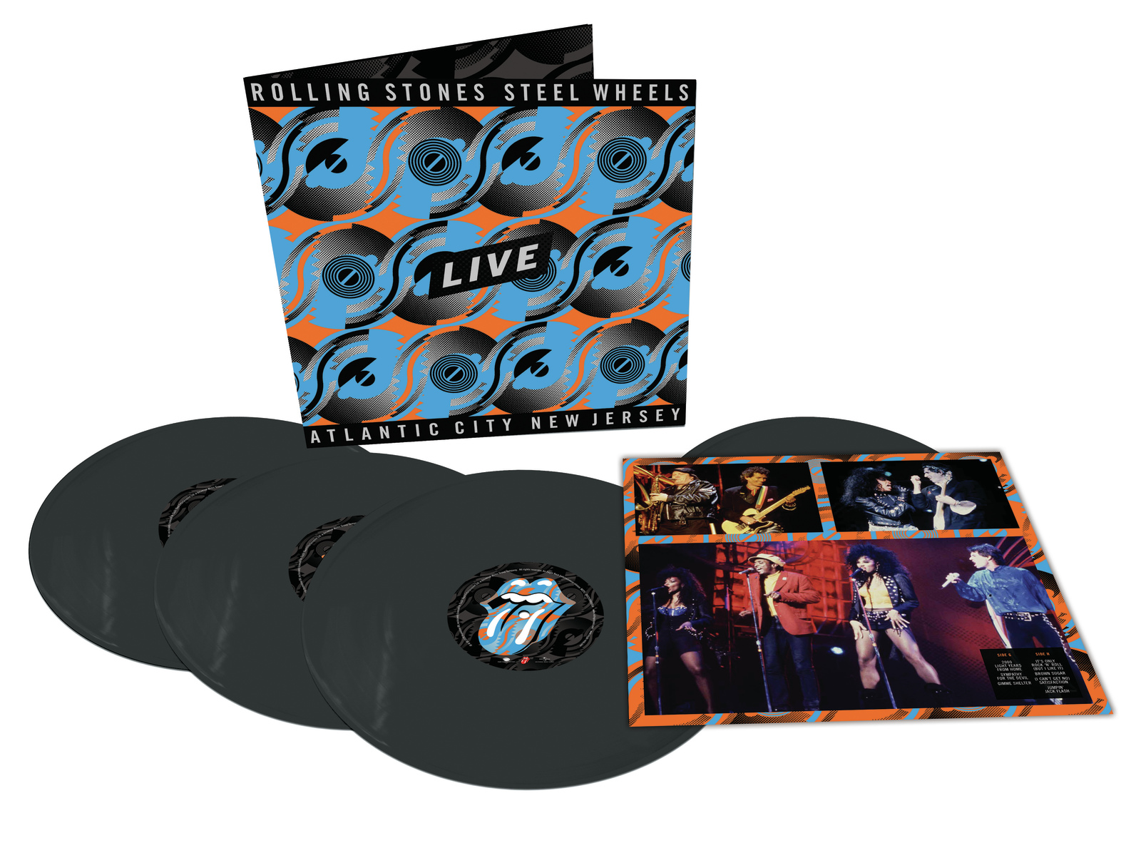 Steel Wheels Live by The Rolling Stones image