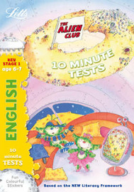 Alien Club 10 Minute Tests English 6-7: age 6-7 by Lynn Huggins Cooper image