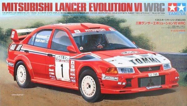 Tamiya Mitsubishi Lancer Evolution VI WRC 1:24 Kitset Model