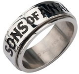 Sons of Anarchy Steel Ring (Size 6)