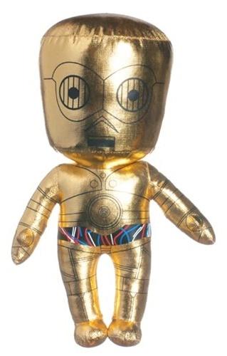 "Star Wars: 10"" C-3PO - Plush Figure (40th Anniversary)"