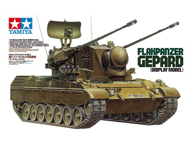 Tamiya 1/35 West German Flakpanzer Gepard - Model Kit